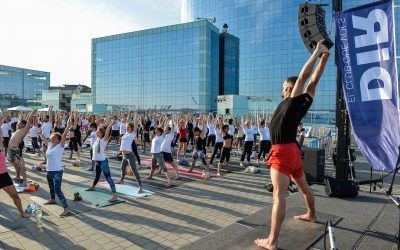 El Global Yoga Congress toma Barcelona