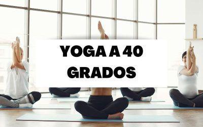 Bikram yoga, el yoga a 40 grados