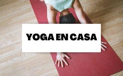Yoga en casa como ayuda para momentos de estrés e incertidumbre